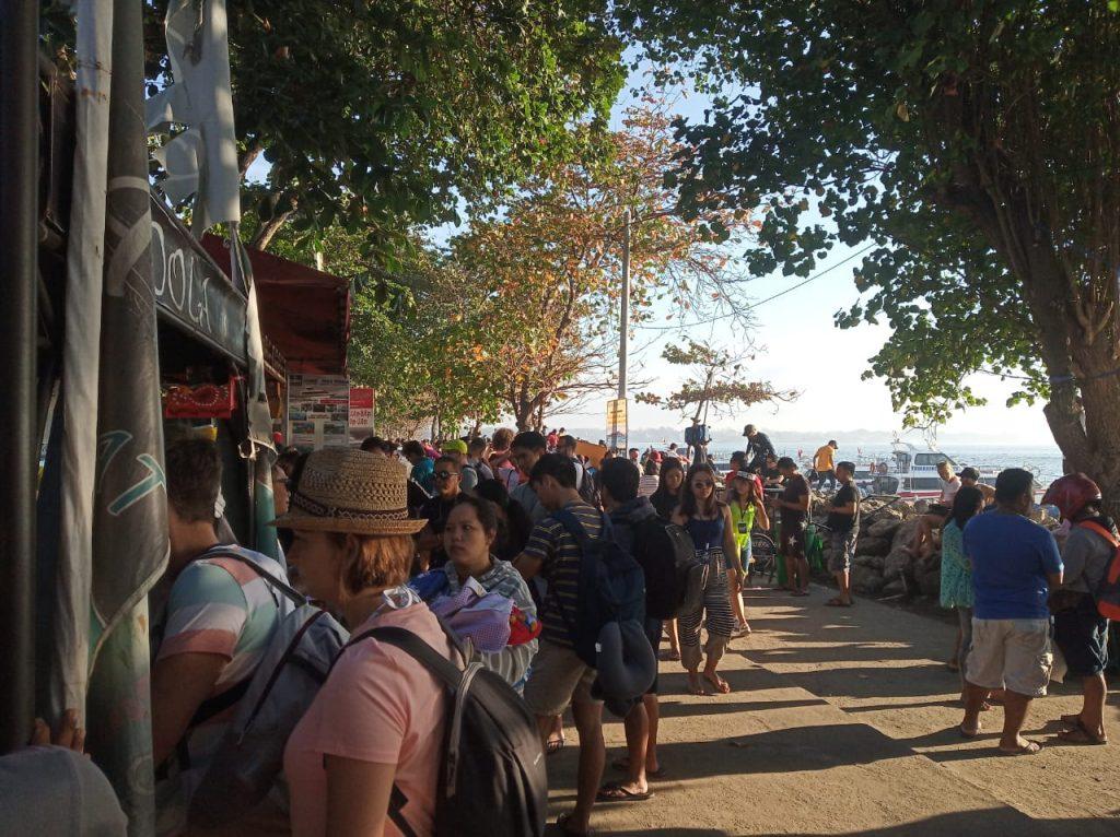 Penyeberangan ke Nusa Penida