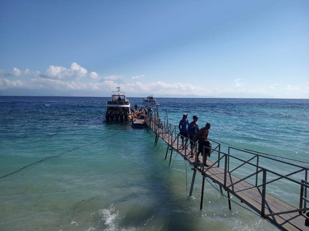 Dermaga Sampalan Nusa Penida