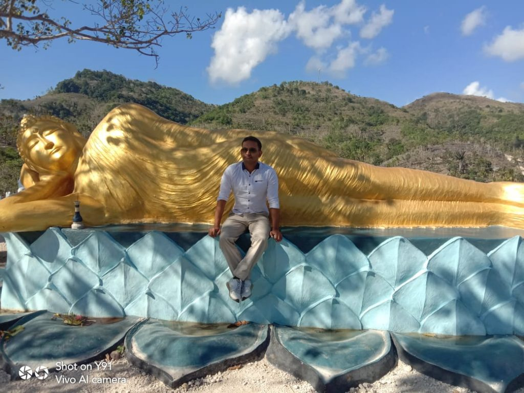 Patung Budha Nusa Penida