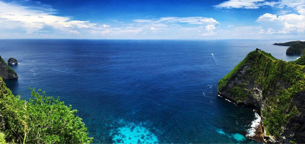 Obyek wisata Nusa Penida Selatan
